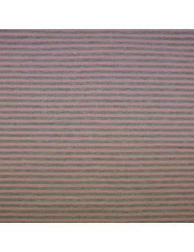 Modal Sweat rose rosa nude grau melange geringelt gestreift