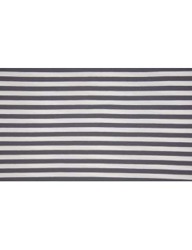 Jersey Streifen grau hellgrau weiß geringelt Ringel gestreift 1cm