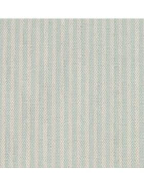 Deko Stoff Canvas Justus Streifen gestreift mint mintgrün weiß
