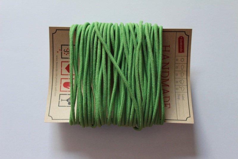 Gummikordel 3mm Gummiband hellgrün apfelgrün