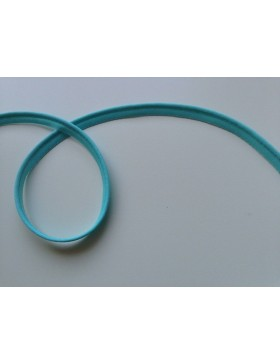 1m Paspelband türkis aqua 10 mm breit