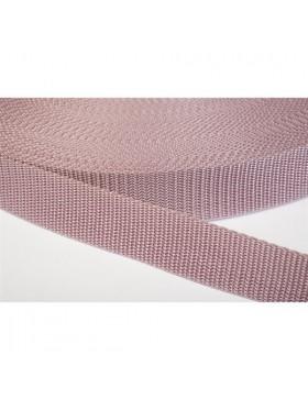 1 Meter Gurtband altrosa 40 mm breit Polyester