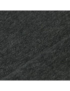Stoff Nicky Nicki anthrazit grau melange dunkelgrau uni einfarbig