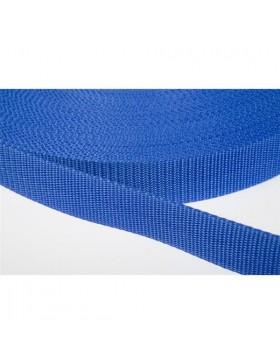 1 Meter Gurtband royalblau 30 mm breit Polyester
