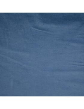 Velvet Samt uni einfarbig petrol rauchblau Tillisy