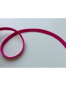 1m Paspelband pink fuchsia 10 mm breit