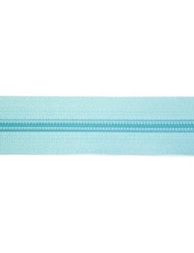 1 Meter Reißverschluss 5 mm türkis hell + 3 Zipper