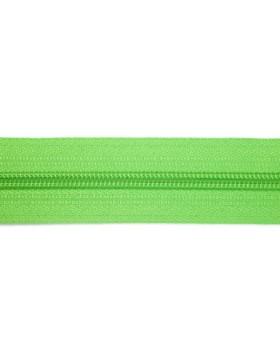 1 Meter Reißverschluss 5mm apfelgrün + 3 Zipper