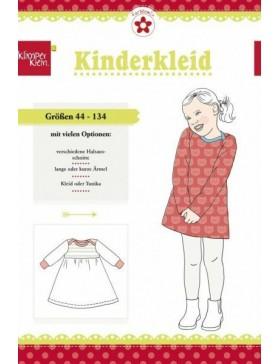 Schnittmuster Kinderkleid Klimperklein Farbenmix
