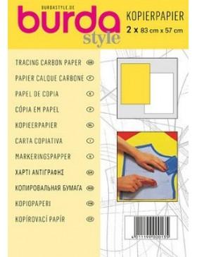 Burda Style Kopierpapier gelb/weiß 2 Stück