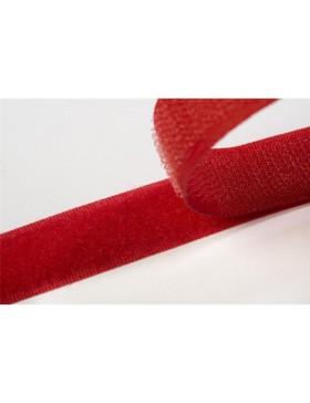 1 Meter Klettband rot 20 mm breit
