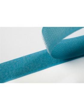 1 Meter Klettband türkis aqua 20 mm breit