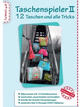CD Taschenspieler 2 Farbenmix 12 Taschen Schnittmuster Tasche