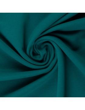 Sweatstoff Sweat petrol grün dunkel einfarbig Eike 750